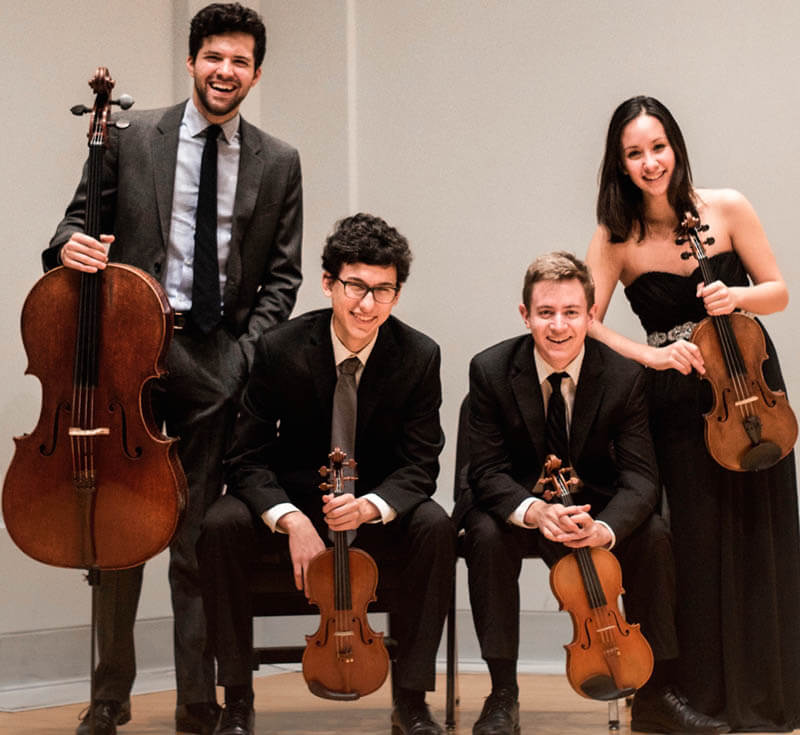 Kirkwood String Quartet booking info